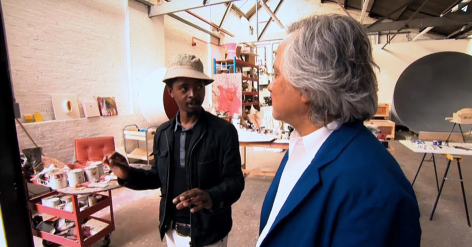 Anish Kapoor and Nicholas Hlobo: A Year of Mentoring