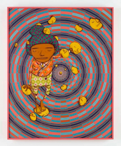 OSGEMEOS O Sonho Feliz (The Happy Dream), 2016