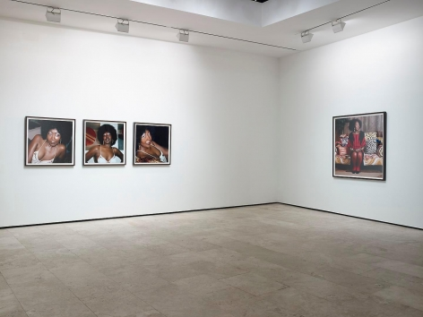 MICKALENE THOMAS: How to Organize a Room Around a Striking Piece of Art Installation view 3