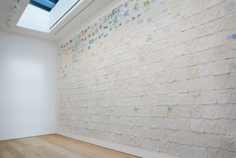 Liza Lou: Classification and Nomenclature of Clouds, Installation view 2