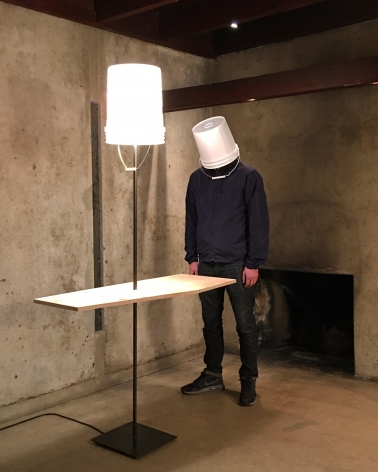 Erwin Wurm, One Minute Sculptures, MAK Center for Art and Architecture at the Schindler House, Los Angeles, California