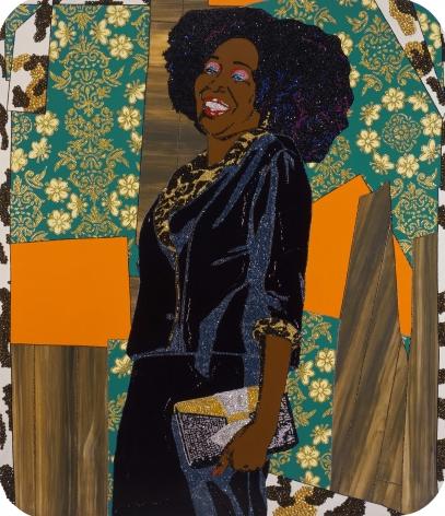 MICKALENE THOMAS, Mama Bush: (Your love keeps lifting me) higher and higher, 2009