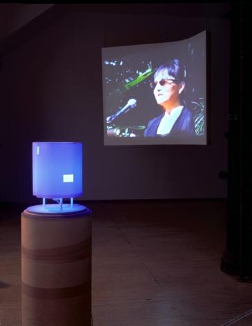 The Poetics Project: 1977-1997, Barcelona Version Installation at Lehmann Maupin, Richard Meier Model view 2
