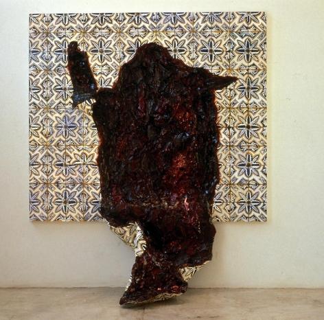 阿德里安娜·瓦萊喬 Tongue with Flower Pattern, 1998