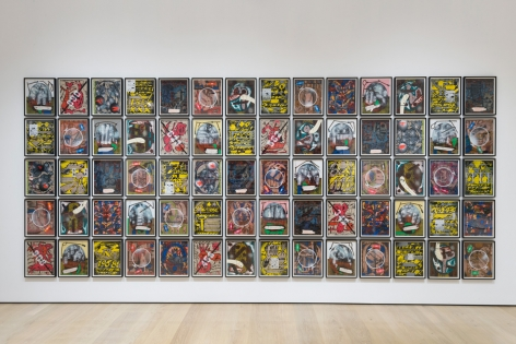 Lari Pittman: Declaration of Independence , Installation view
