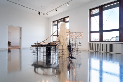 Lee Bul: Crash, Installation view, Martin-Gropius-Bao, Berlin