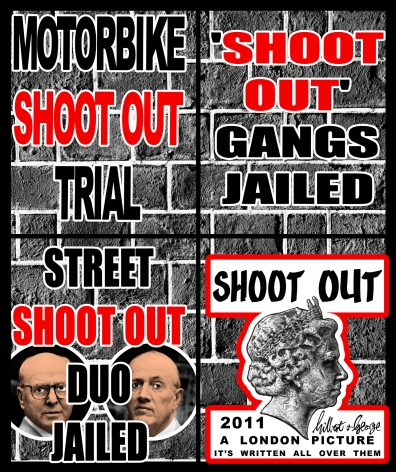 GILBERT & GEORGE, Shoot Out, 2011