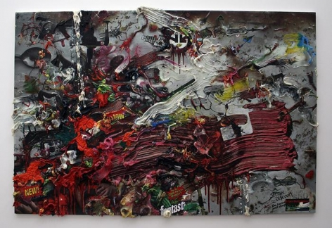 Fabian Marcaccio, Hyper-Multinational Paintant, 2006