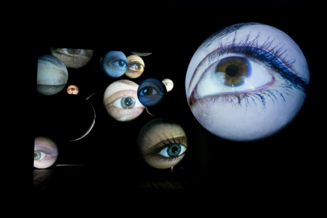 TONY OURSLER, Open Obscura, 1996/2013