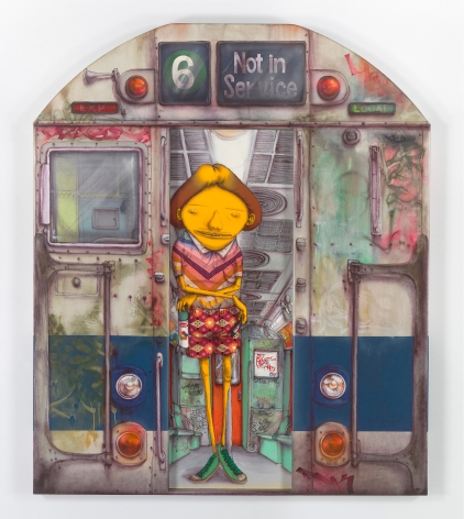 OSGEMEOS, Momentos mágicos (Magic Moments), 2015