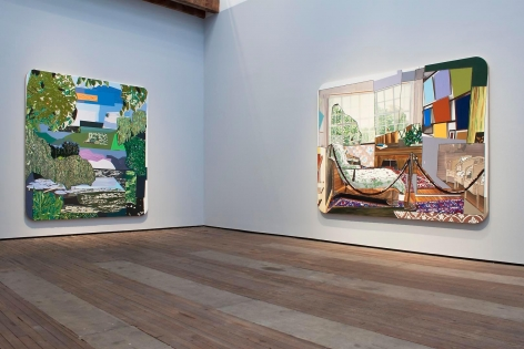MICKALENE THOMAS: How to Organize a Room Around a Striking Piece of Art Installation view 4
