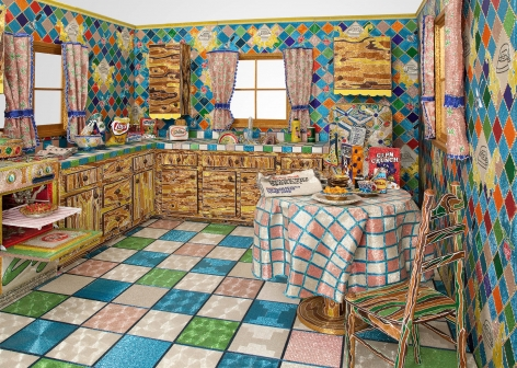 LIZA LOU, Kitchen, 1991–1996