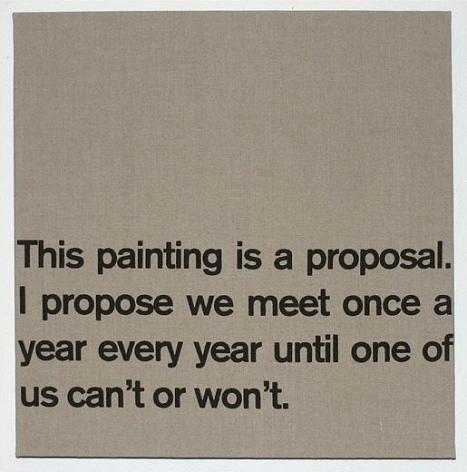 Dave McKenzie, Proposal, 2007