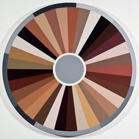 ADRIANA VAREJÃO Polvo Color Wheel I (Seascape Series), 2014