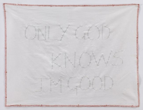 TRACEY EMIN Only God Knows I'm Good, 2009