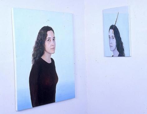阿德里安娜·瓦萊喬 Duplo Reflexo do Outro , (Double Reflection of the Other), 1999