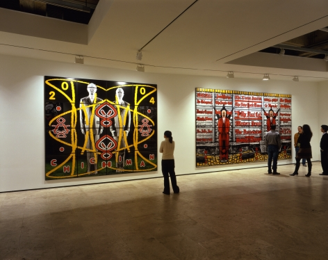 GILBERT & GEORGE Perversive Pictures Installation View 2.