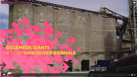 OSGEMEOS, Giants Time-lapse installation video