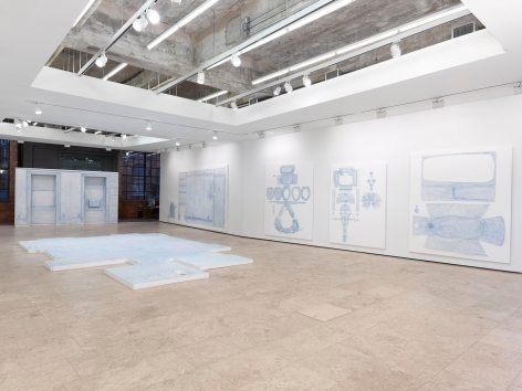 Drawings Installation view, 540 West 26th Street, New York