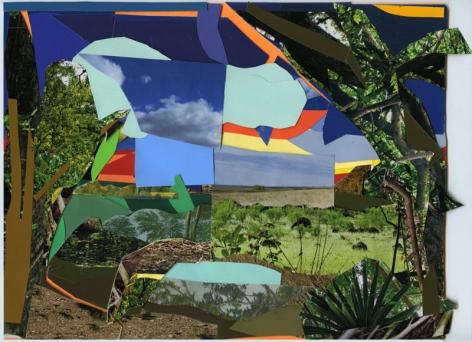 MICKALENE THOMAS Hudson River On My Mind, 2009