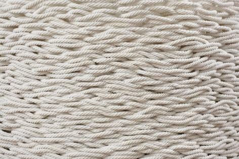 LIZA LOU, Continuous Mile (white),2006–2008 (detail)