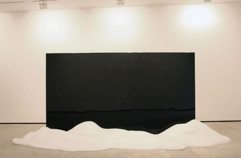 Ink Mirror (Landscape), 2007