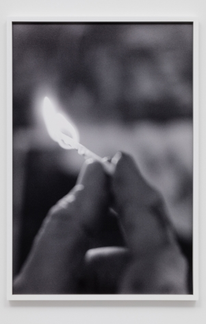 CATHERINE OPIE, Match fire #2 (The Modernist), 2016