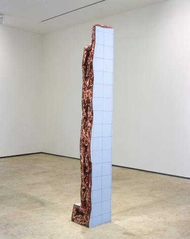 ADRIANA VAREJÃO, Ruina de Charque - Coluna (Column Jerked-Beef Ruin), 2003