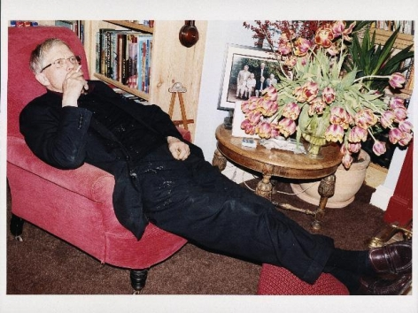 JUERGEN TELLER David Hockney smoking, Bridlington, 2008, 2008