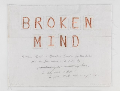 TRACEY EMIN Broken World, 2009