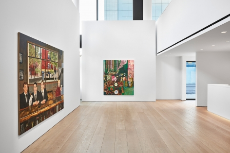 Hernan Bas, TIME LIFE  Installation view 2