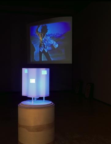 The Poetics Project: 1977-1997, Barcelona Version Installation at Lehmann Maupin, Richard Meier Model view 1