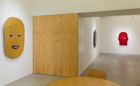 Tony Oursler, PriV%te Installation view 4