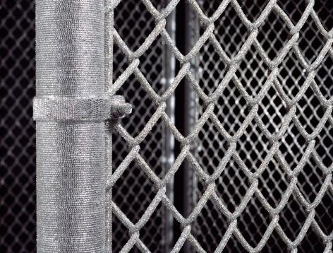 LIZA LOU, Security Fence, 2005 (detail)