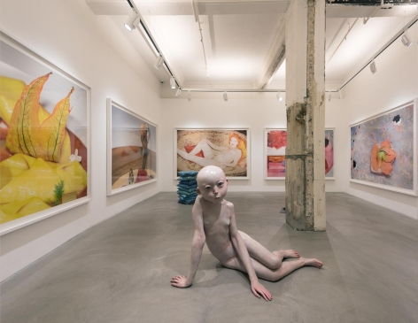 Juergen Teller and Xiang Jing Installation view 4