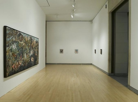 Gallery View of Hernan Bas: Works from the Rubell Family Collection