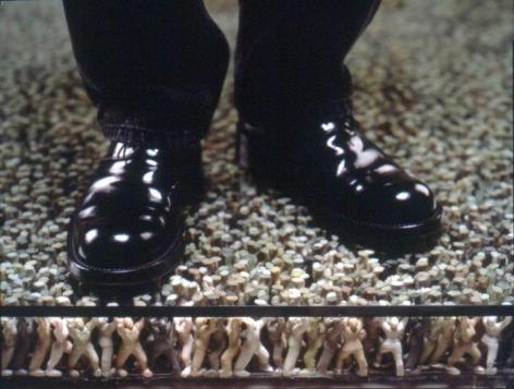 Floor (detail), 1997-2000