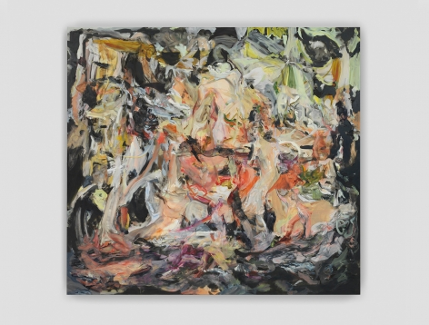 CECILY BROWN, All Nights Are Days, 2019