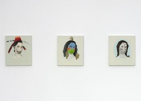 Adriana Varejão, Kindred Spirits Installation view 6