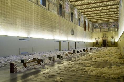 STEFANO ARIENTI, Installation view of Enciclopedia, Complesso Monumentale Santo Spirito, Sassia, Italy