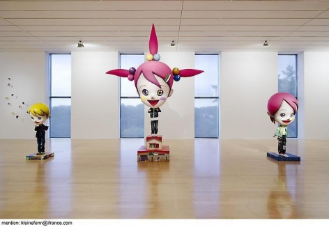Installation images from Musée d'Art Contemporain, Lyon, France, 2006