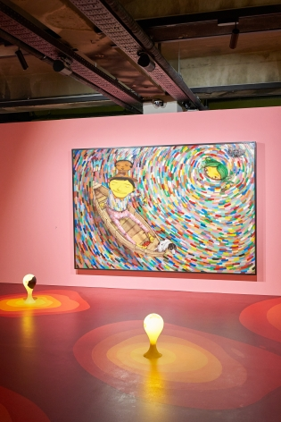 OSGEMEOS: You Are MyGuest, Installation view