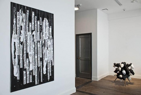 NARI WARD Liberty and Orders, installation view