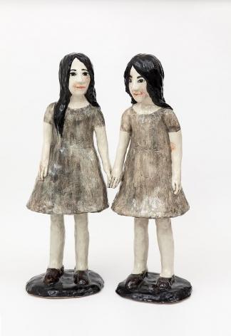 """克拉拉·å…‹èŽ‰æ–¯å¡""""洛娃 Twins, 2014"""