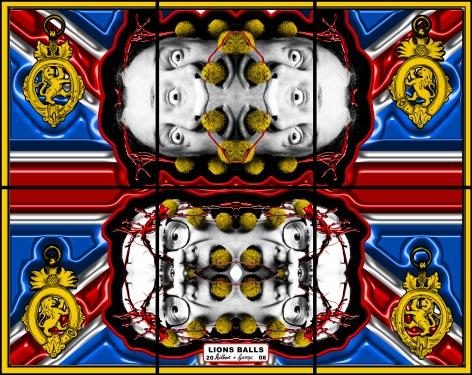 比利·æŸ¥çˆ¾è¿ªæ–¯ Lions Balls, 2008