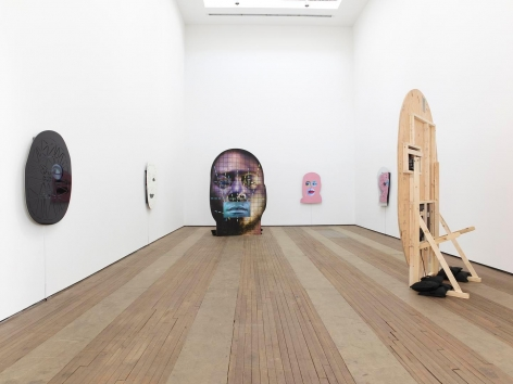 Tony Oursler Installation view 2