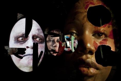 Tony Oursler: Vampiric Battle