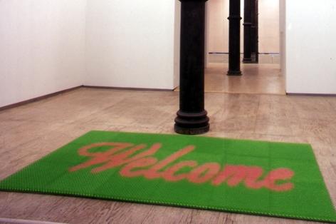DO HO SUH, Doormat: Welcome (Green), 2000