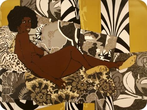 MICKALENE THOMAS, A Little Taste Outside of Love, 2007