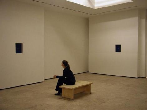 SHIRAZEH HOUSHIARY, Breath, 2003 (four-channel video installation)